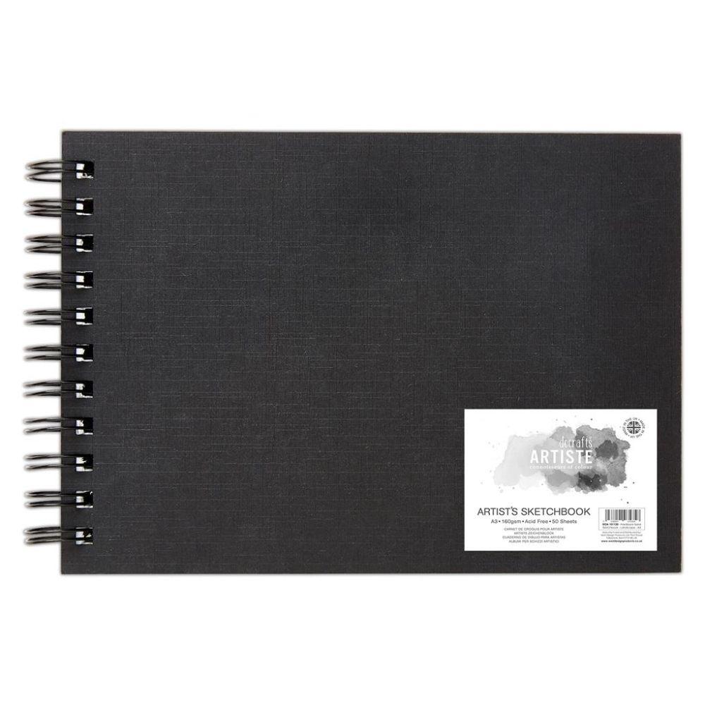 Artiste A3 Hardback Spiral Sketchbook – DOA 101120