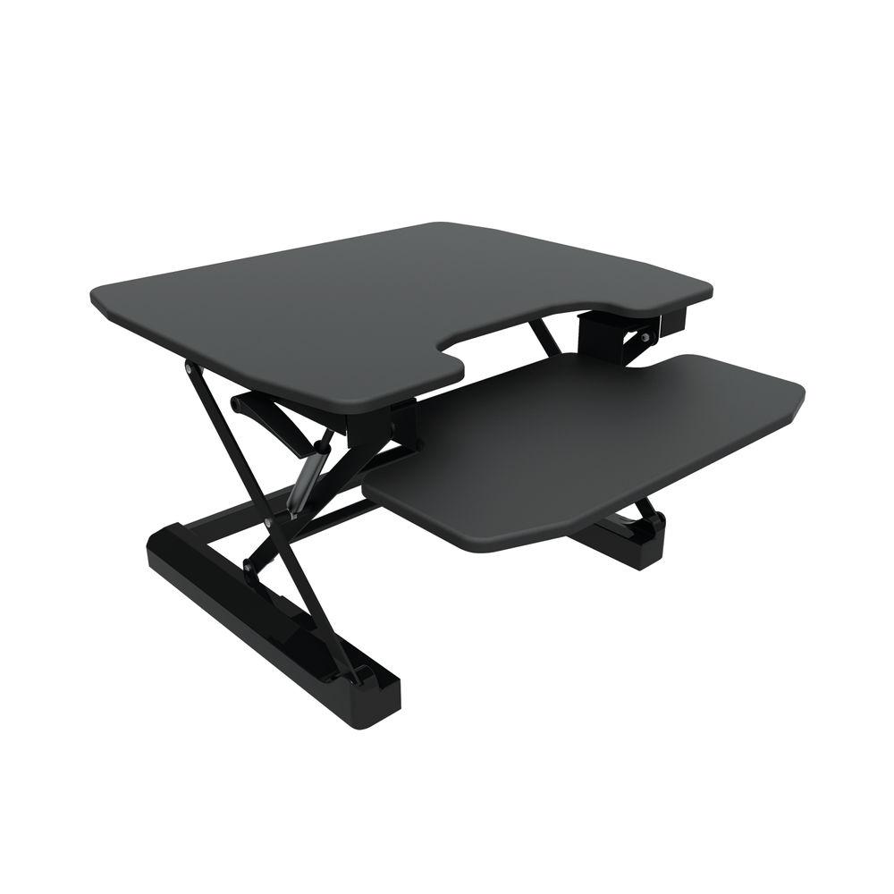 Contour Ergonomics Sit-Standing Desk Black CE04633