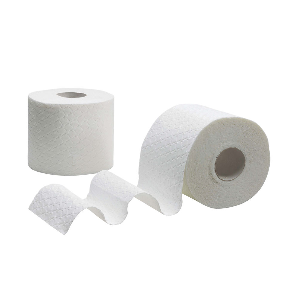 Kleenex White 4-Ply Quilted Toilet Rolls, Pack of 24 - 8484