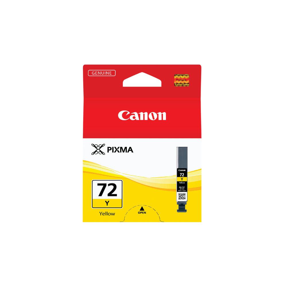 Canon PGI-72Y Yellow Ink Cartridge - 6406B001