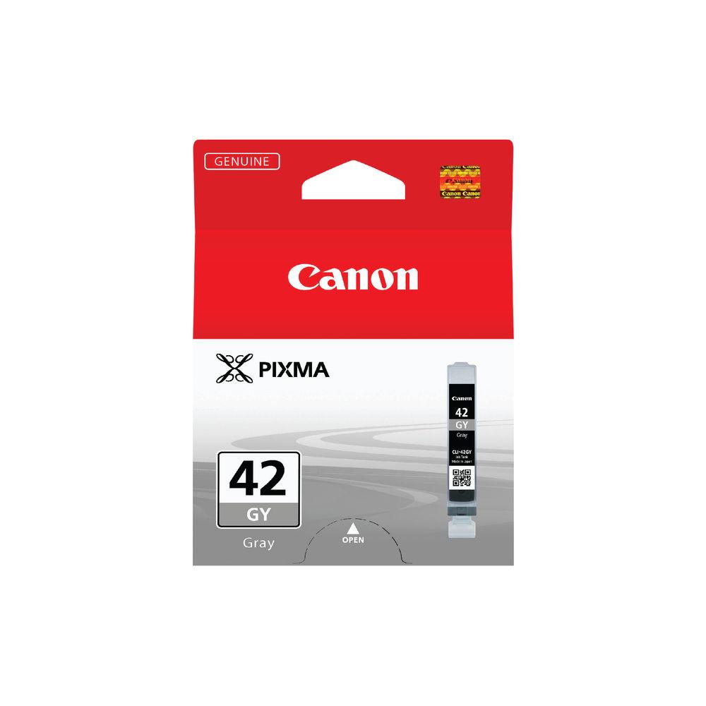Canon CLI-42GY Grey Inkjet Cartridge 6390B001