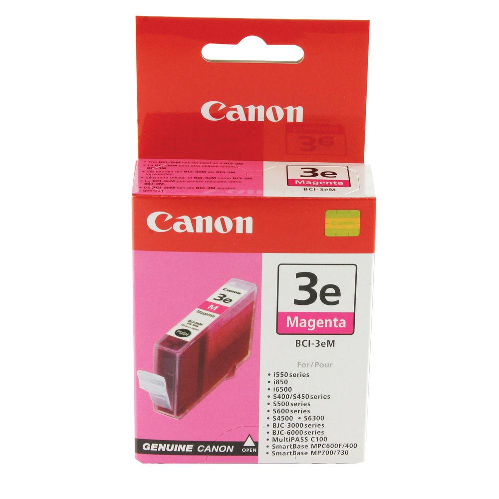 Canon BCI-3EM Magenta Ink Tank Cartridge - 4481A002
