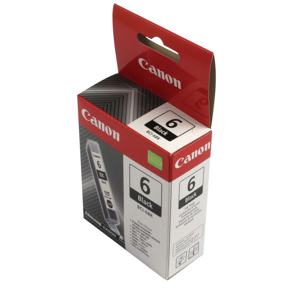 Canon BCI-6BK Black Ink Tank Cartridge - 4705A002