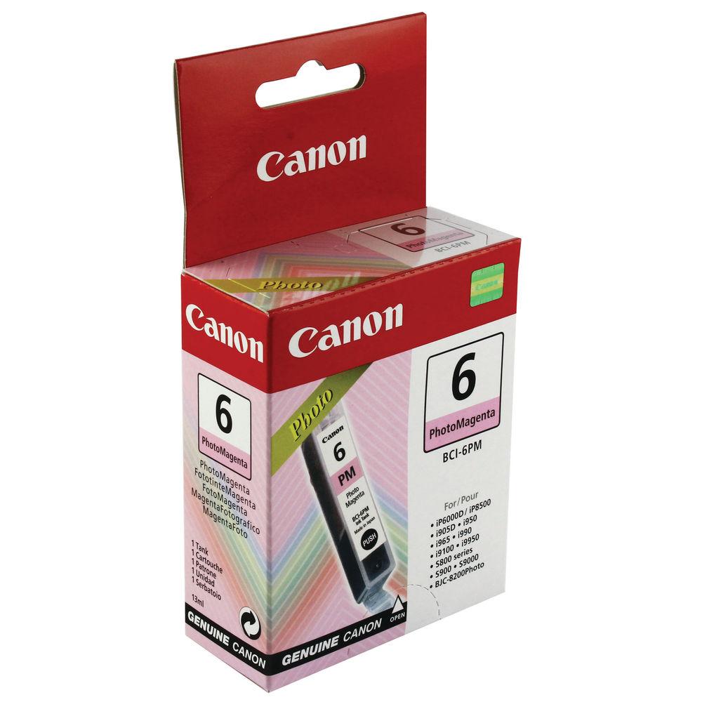 Canon BCI-6PM Photo Magenta Ink Cartridge - 4710A002