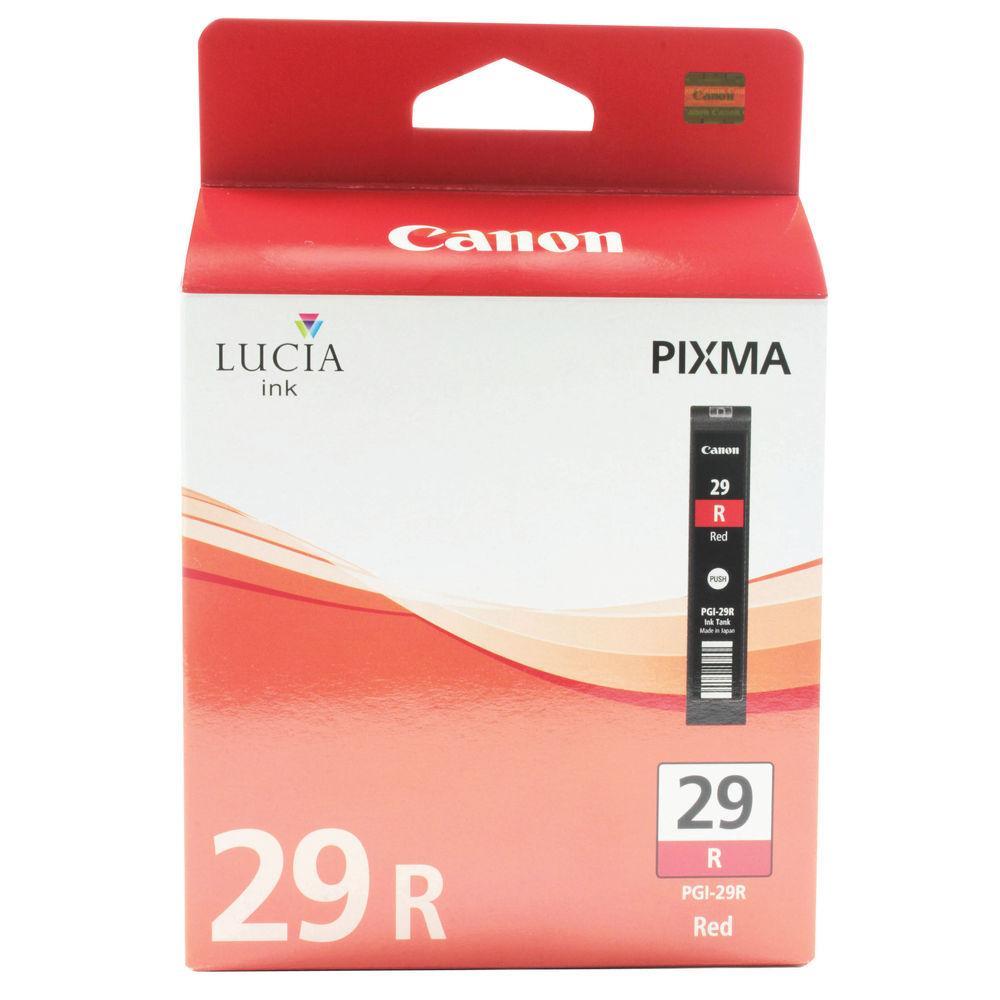 Canon PGI-29R Red Ink Cartridge - PGI-29 R