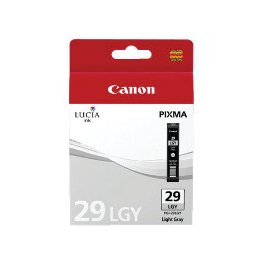 Canon PGI-29LGY Light Grey Ink Tank 4872B001