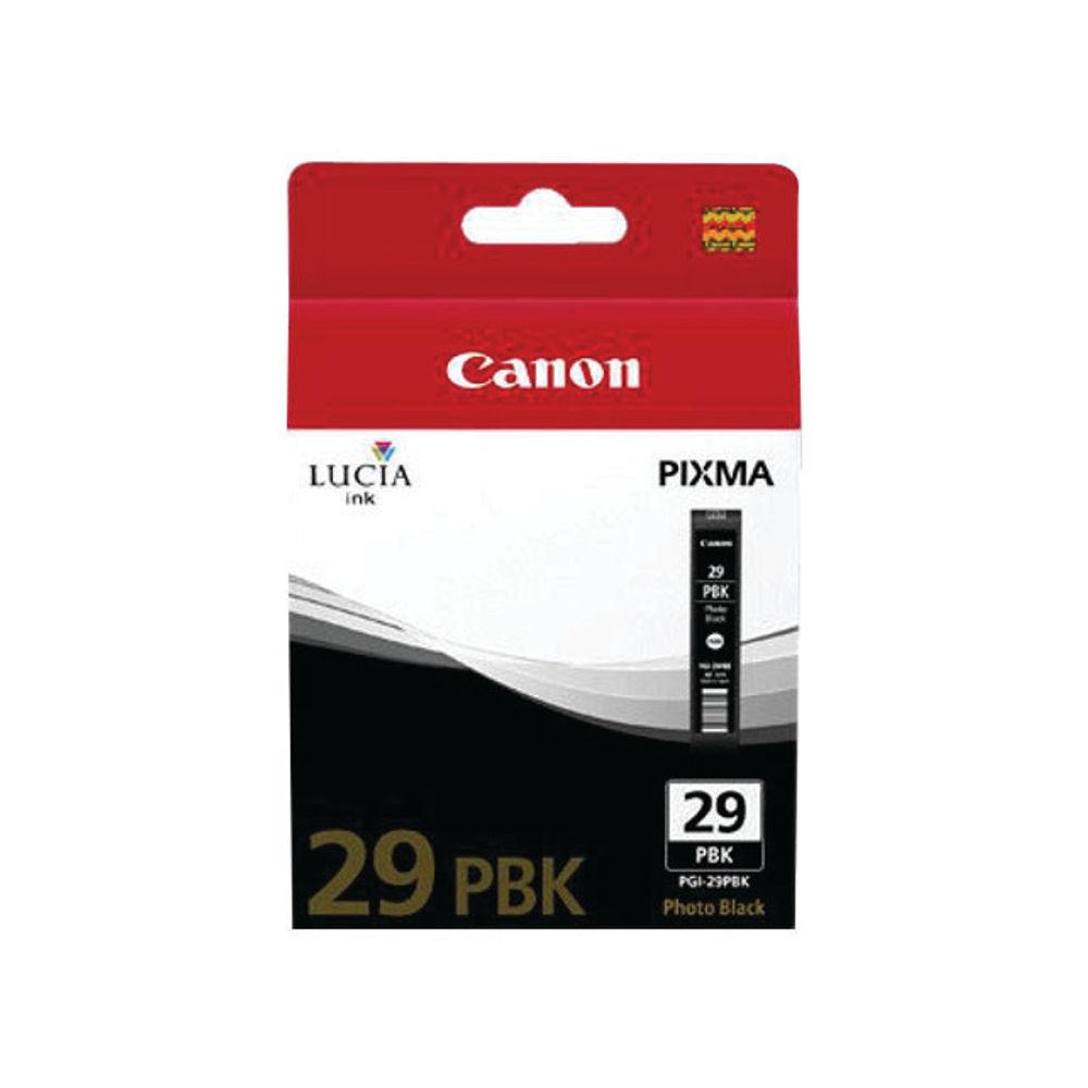 Canon PGI-29PBK Photo Black Ink Cartridge - PGI-29 PBK