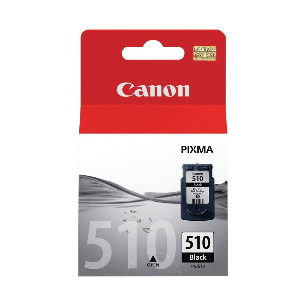 Canon PG-510 Black Ink Cartridge - High Capacity 2970B001