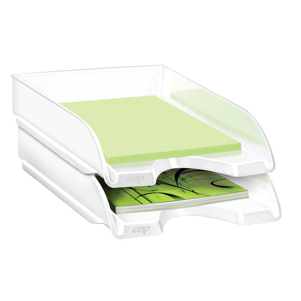 CepPro Gloss White Letter Tray - 200G WHITE