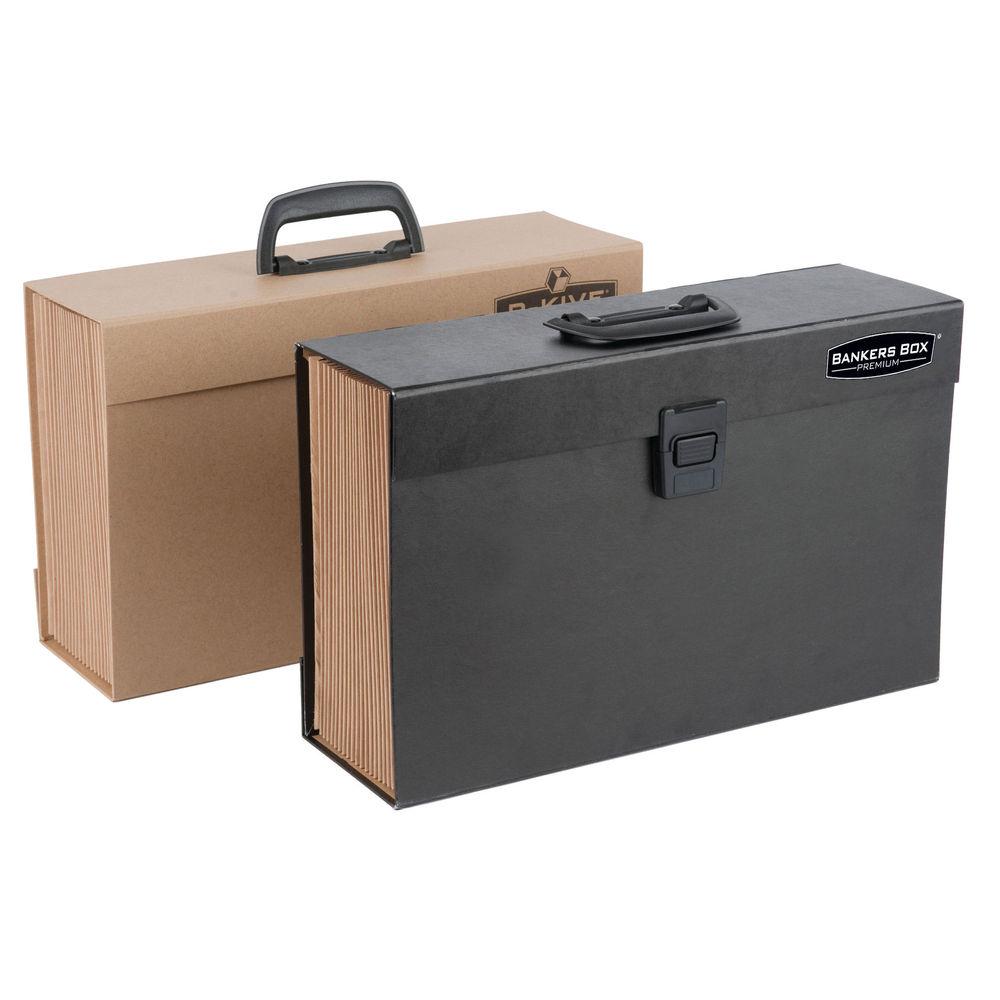 Fellowes Black Bankers Box - Expanding Handifile - 9351501