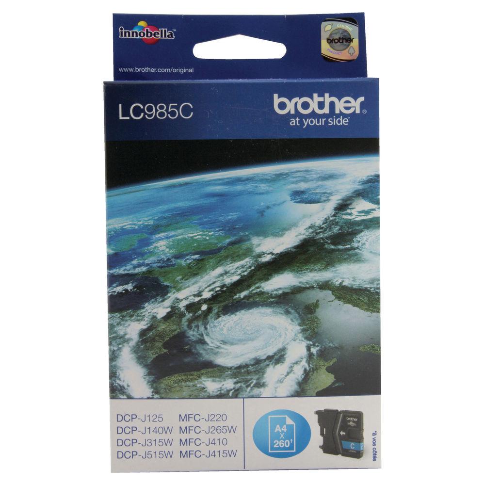 Brother LC985C Cyan Ink Cartridge - LC985C