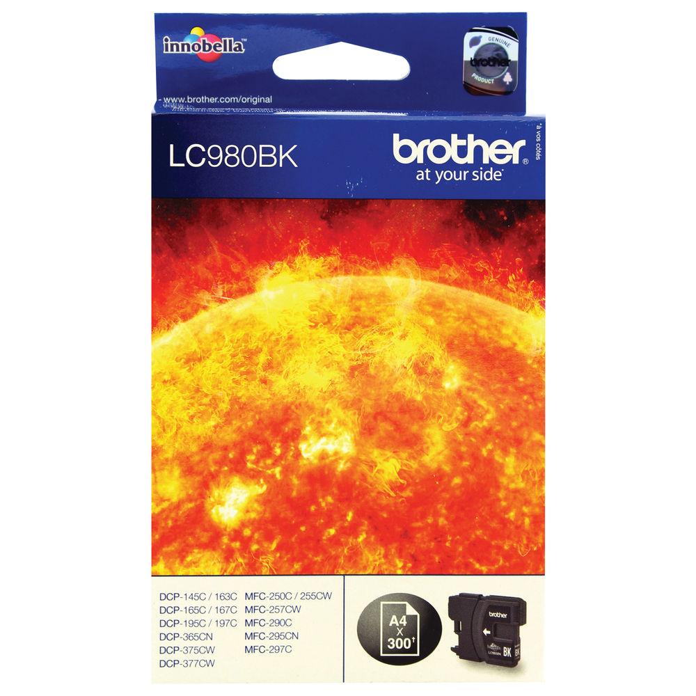 Brother LC980BK Black Inkjet Cartridge LC-980BK