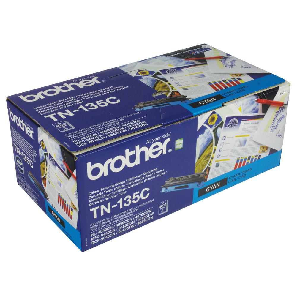 Brother TN135C High Capacity Cyan Toner Cartridge - TN135C