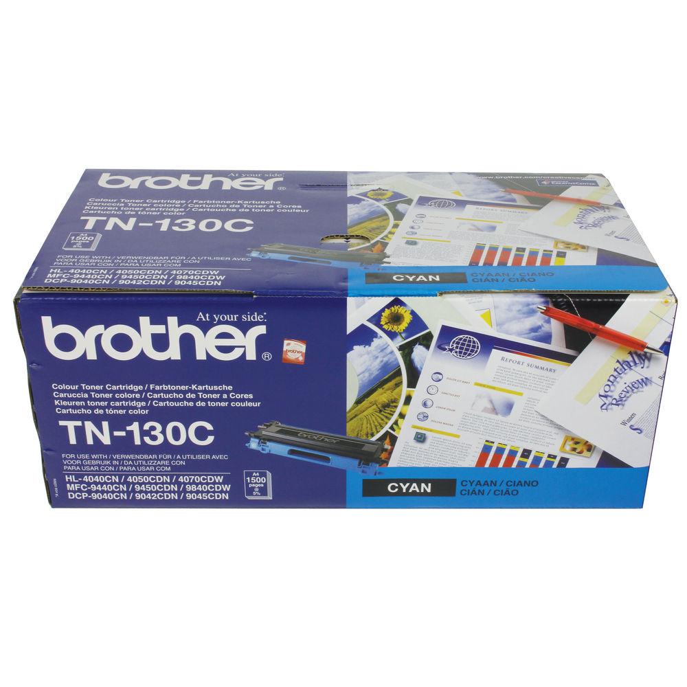 Brother TN-130C Cyan Toner Cartridge - TN130C