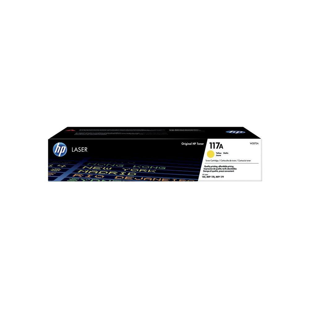 HP 117A Yellow Original Laser Toner Cartridge W2072A