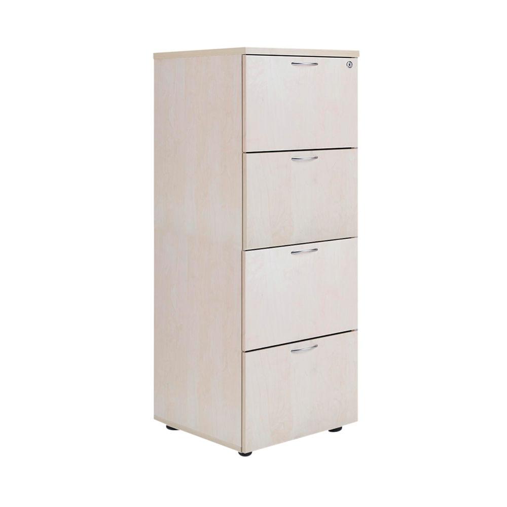 Jemini Maple 4 Drawer Filing Cabinet