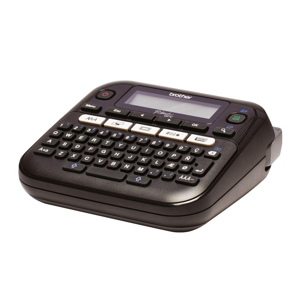 Brother P-Touch PT-D210VP Desktop Label Printer Black - PTD210VP