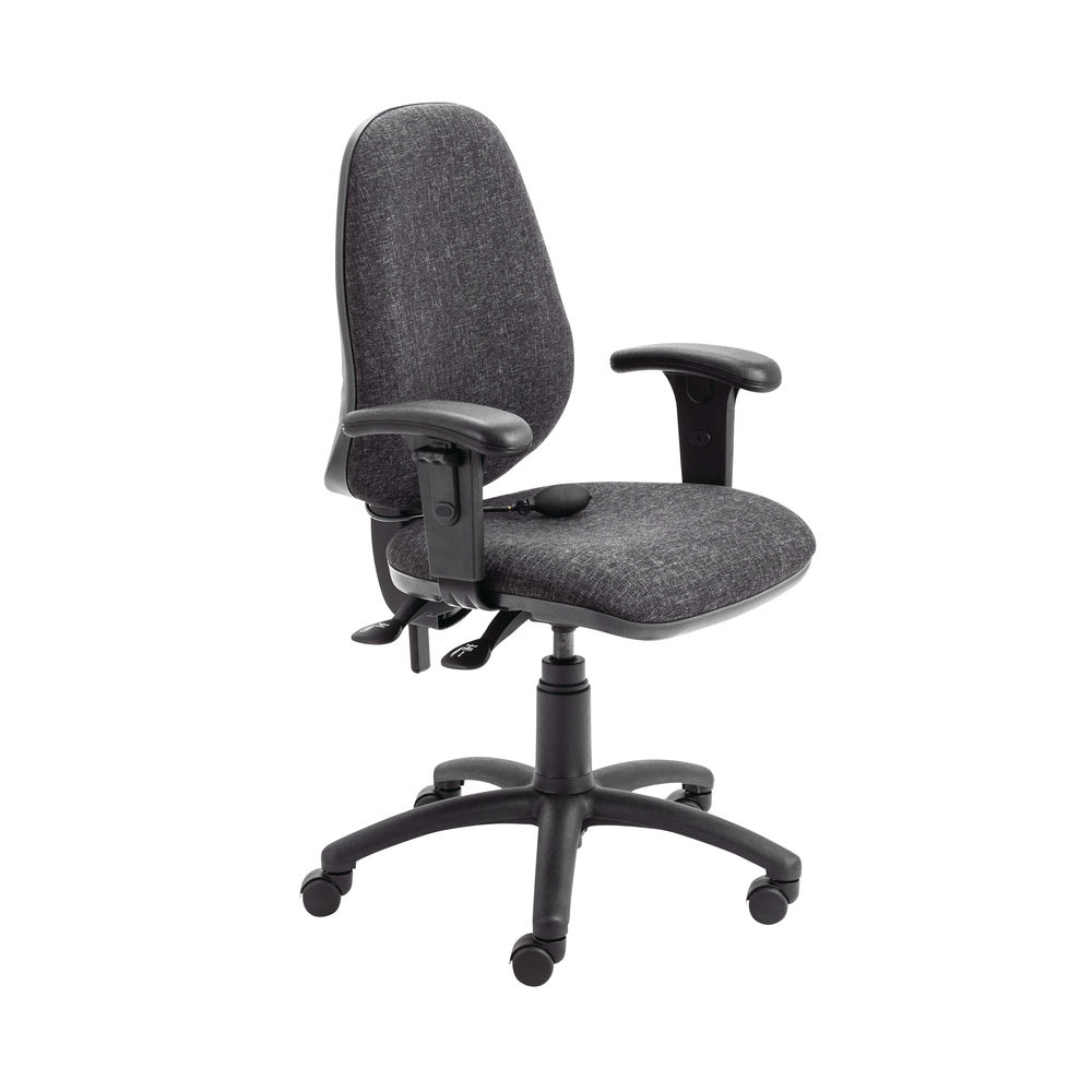 First Charcoal High Back Posture Office Chair
