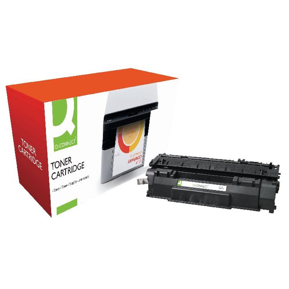 Q-Connect Compatible Solution HP 53A Black Laserjet Toner Cartridge Q7553A