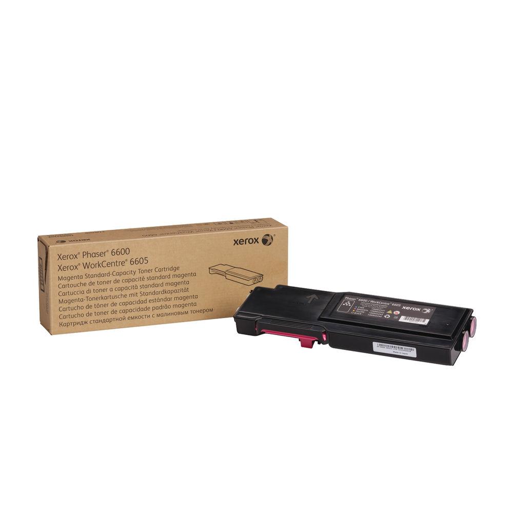 Xerox Phaser 6600 Magenta Toner Cartridge 106R02246