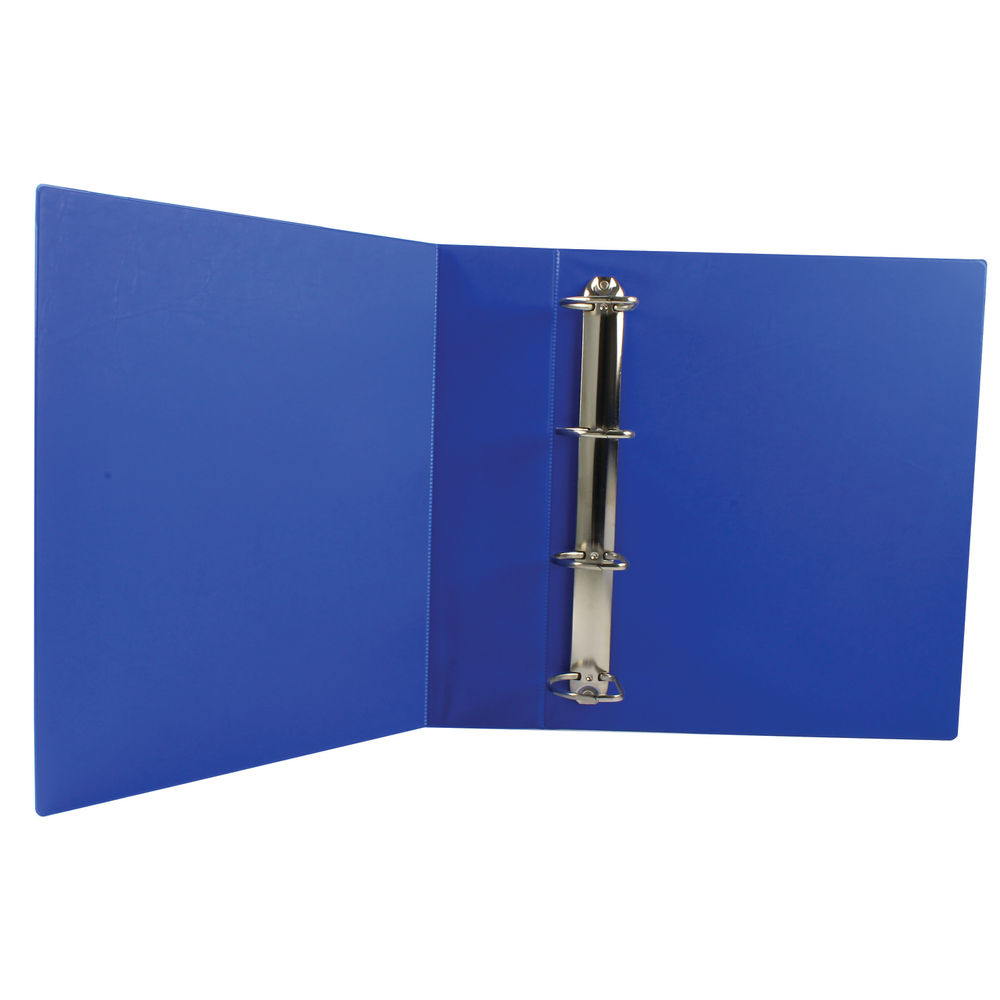 Blue A4 50mm 4 D-Ring Presentation Ring Binders, Pack of 10 - WX47662