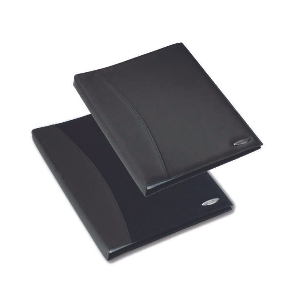Rexel Soft Touch Black A4 Display Book, 24 Pockets - 2101185