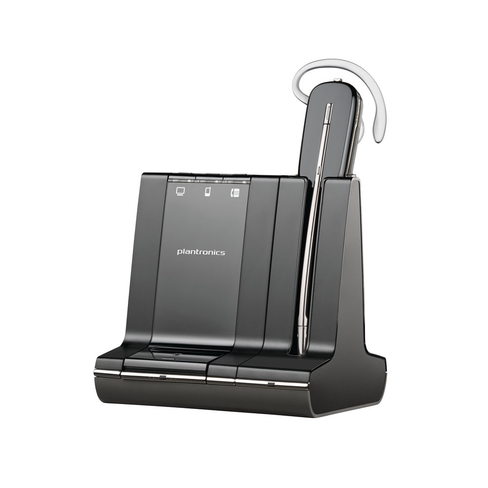 Plantronics Savi W740 Black Wireless Headset 83542-12
