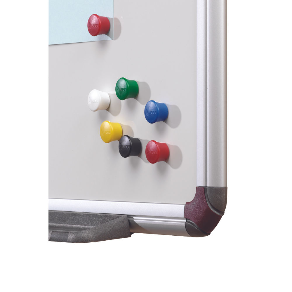 Nobo Assorted Drawing Pin Magnets, Pack of 12 - 1901102