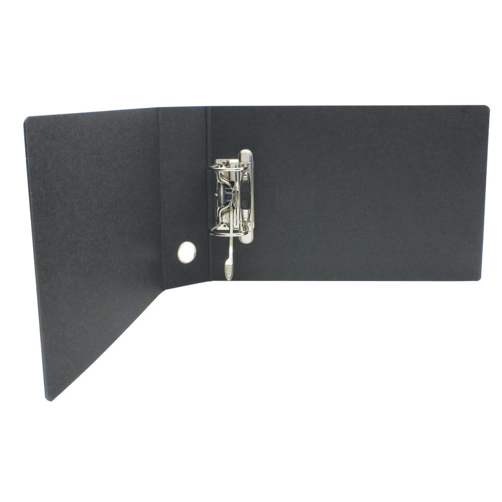 Leitz Specialist Black A5 Oblong Lever Arch Files - Pack of 5 - 31071-95