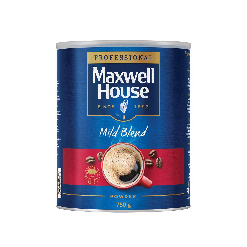 Maxwell House Coffee Powder 750g Tin