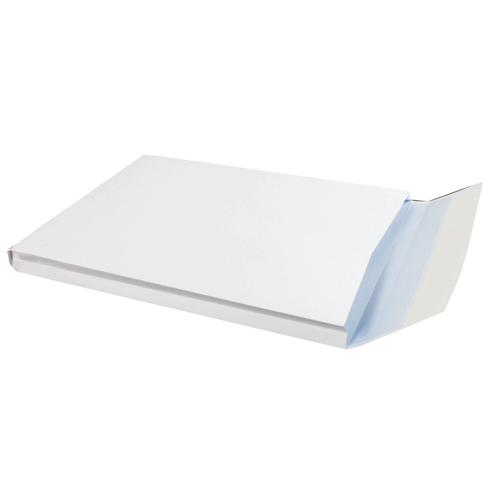 Q-Connect White C4 Peel and Seal Window Envelopes 120gsm, Pack of 125 – KF02891
