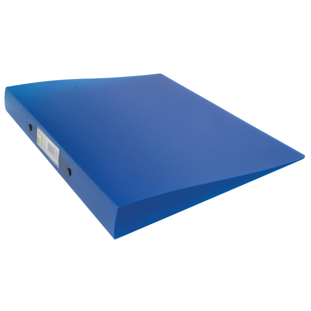 Q-Connect Frosted Blue A4 2 Ring Polypropylene Ring Binder - KF02483
