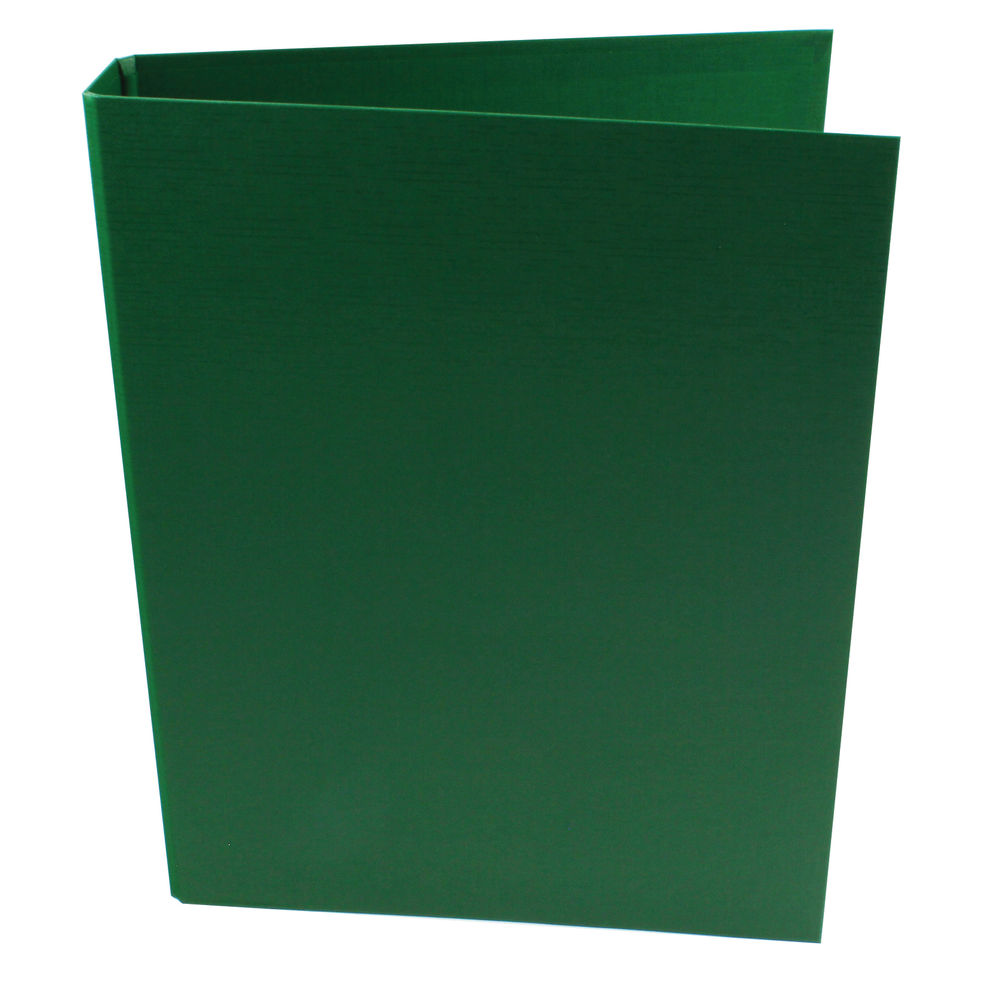 Q-Connect Green A4 2 Ring Polypropylene Ring Binders, Pack of 10 - KF02004