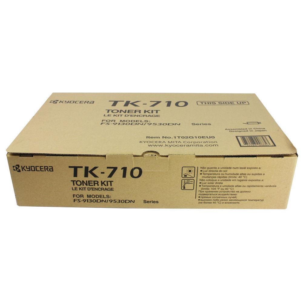 Kyocera TK-710 Black Toner Cartridge (40,000 Page Capacity)