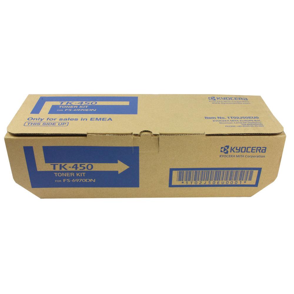 Kyocera TK-450 Black Toner Cartridge - KETK450
