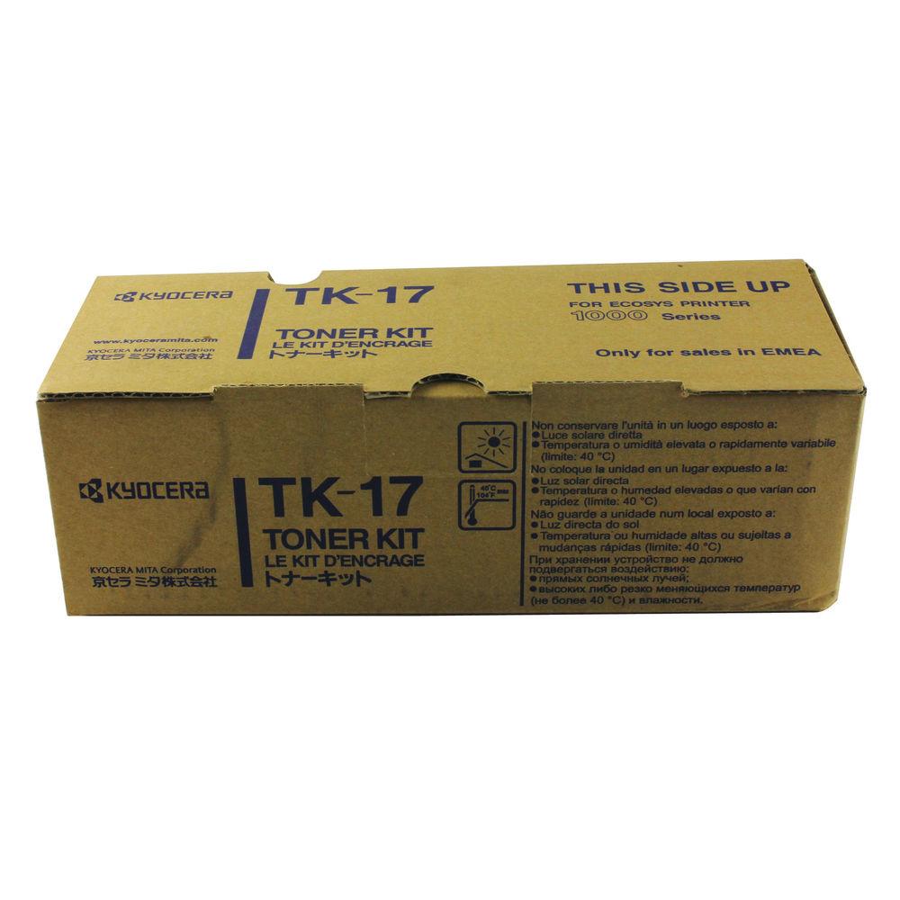 Kyocera TK-17 Black Laser Toner - 370PT5KW