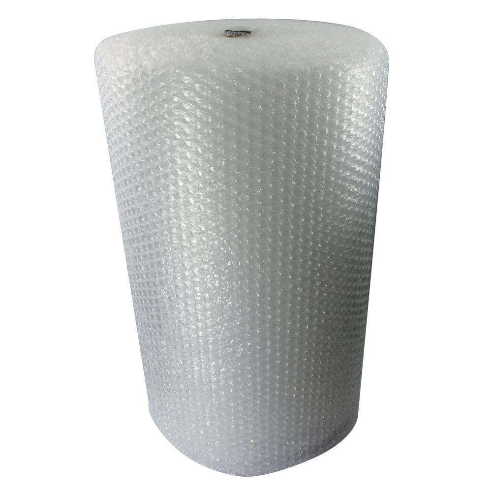 Jiffy Large Clear Bubble Wrap Film Roll, 1200mm x45m - BROE33080
