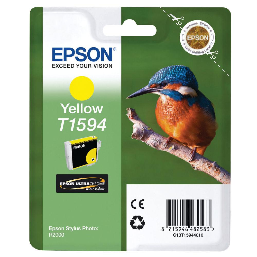 Epson T1594 Yellow Inkjet Cartridge C13T15944010 / T1594