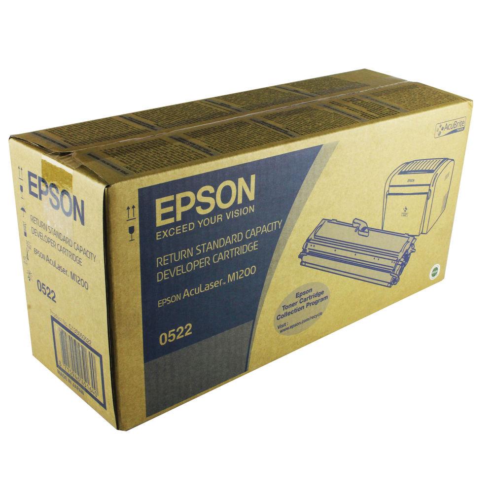 Epson AcuLaser M1200 Return Standard Yield Toner Cartridge 1.8K Black C13S050522