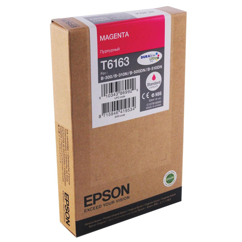Epson T6163 Magenta Ink Cartridge - C13T616300
