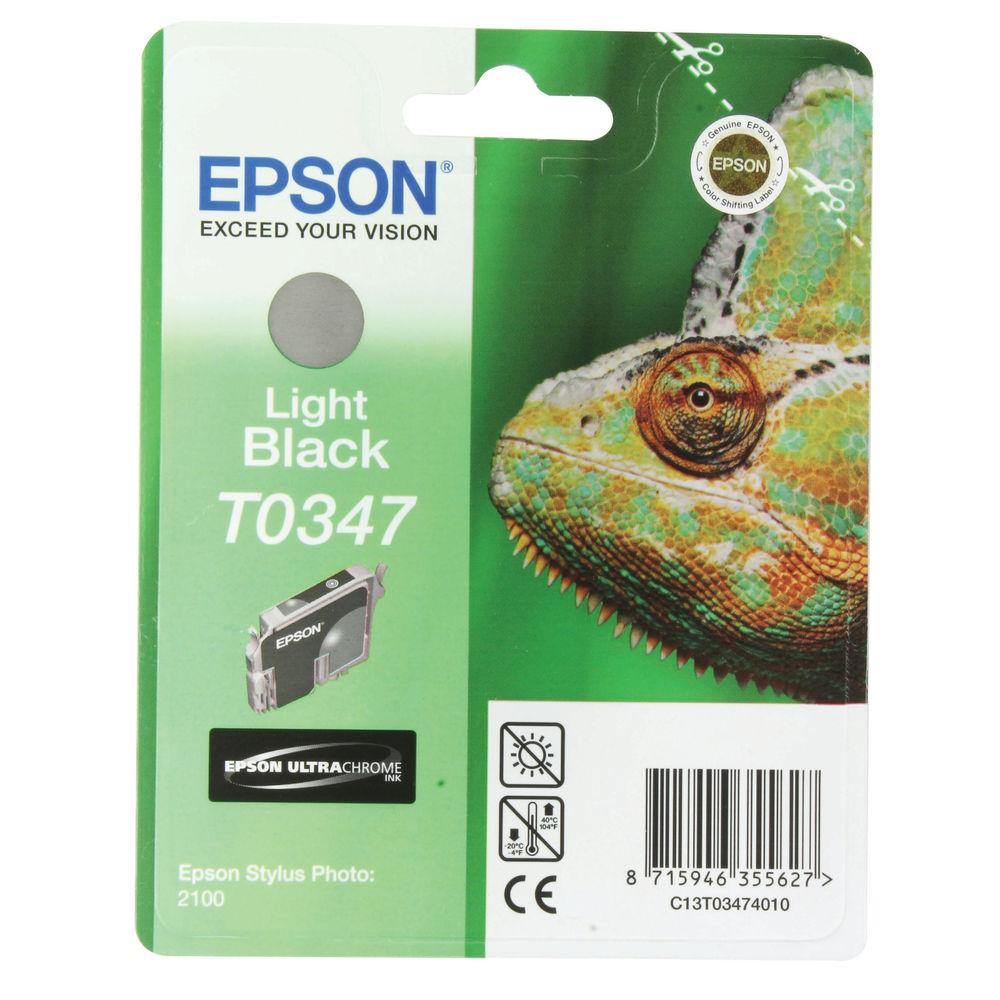 Epson T0347 Light Black Ink Cartridge - C13T03474010