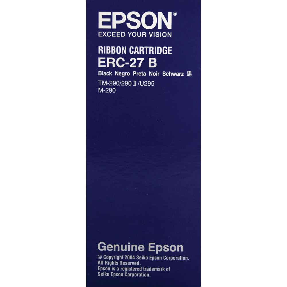 Epson ERC-27 B Black Fabric Ribbon- C43S015366