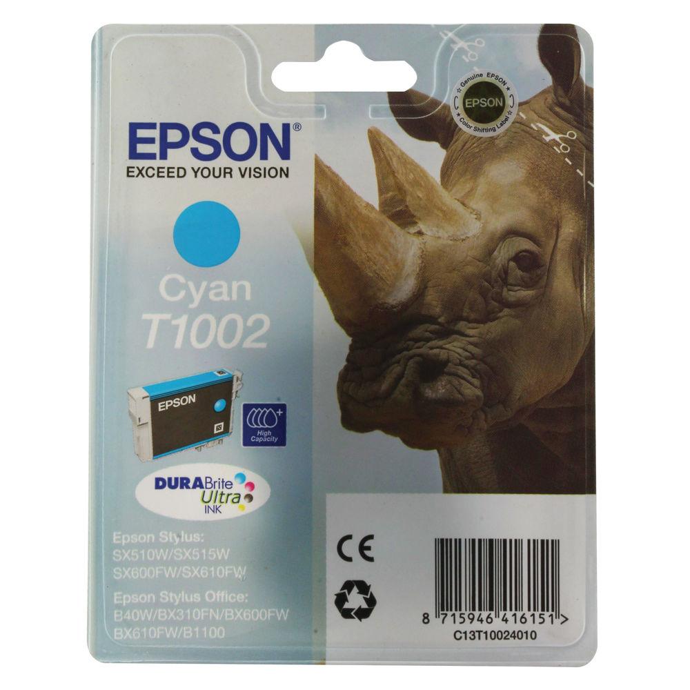 Epson T1002 Cyan Ink Cartridge - C13T10024010