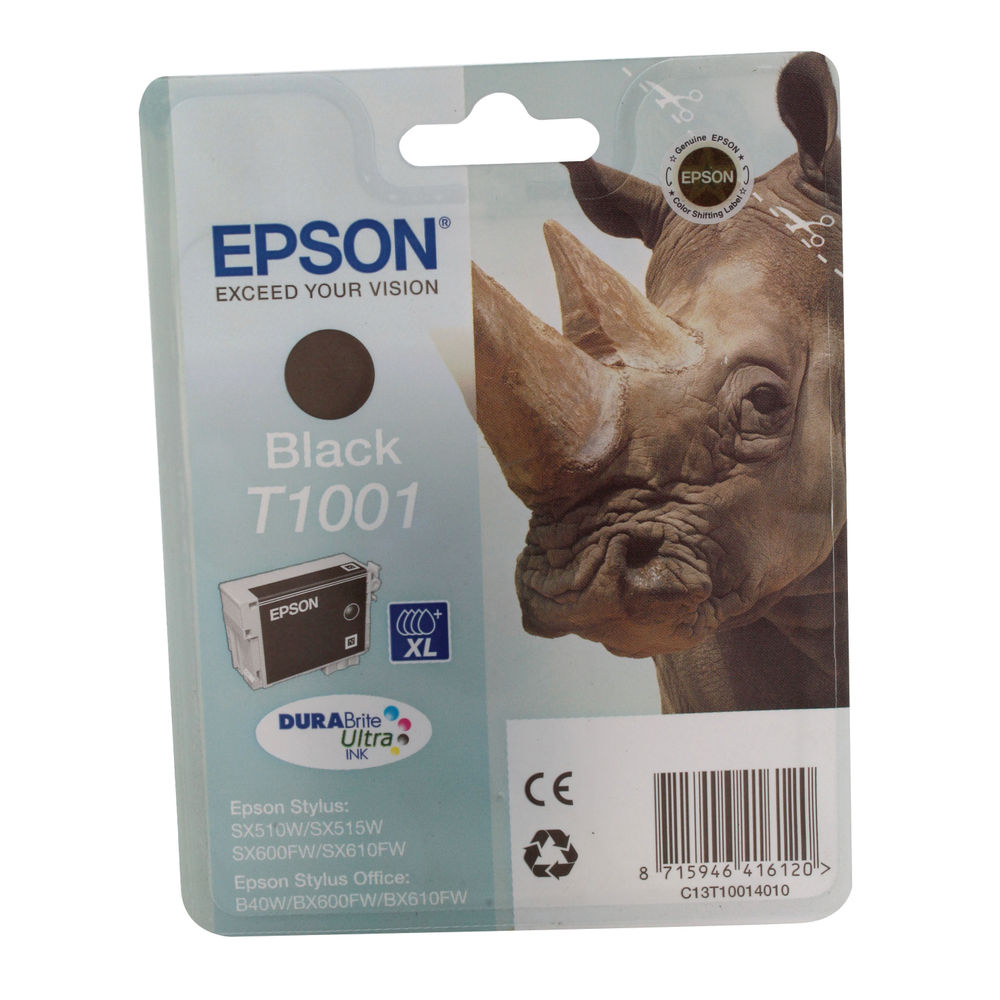Epson T1001 Black Ink Cartridge - C13T10014010