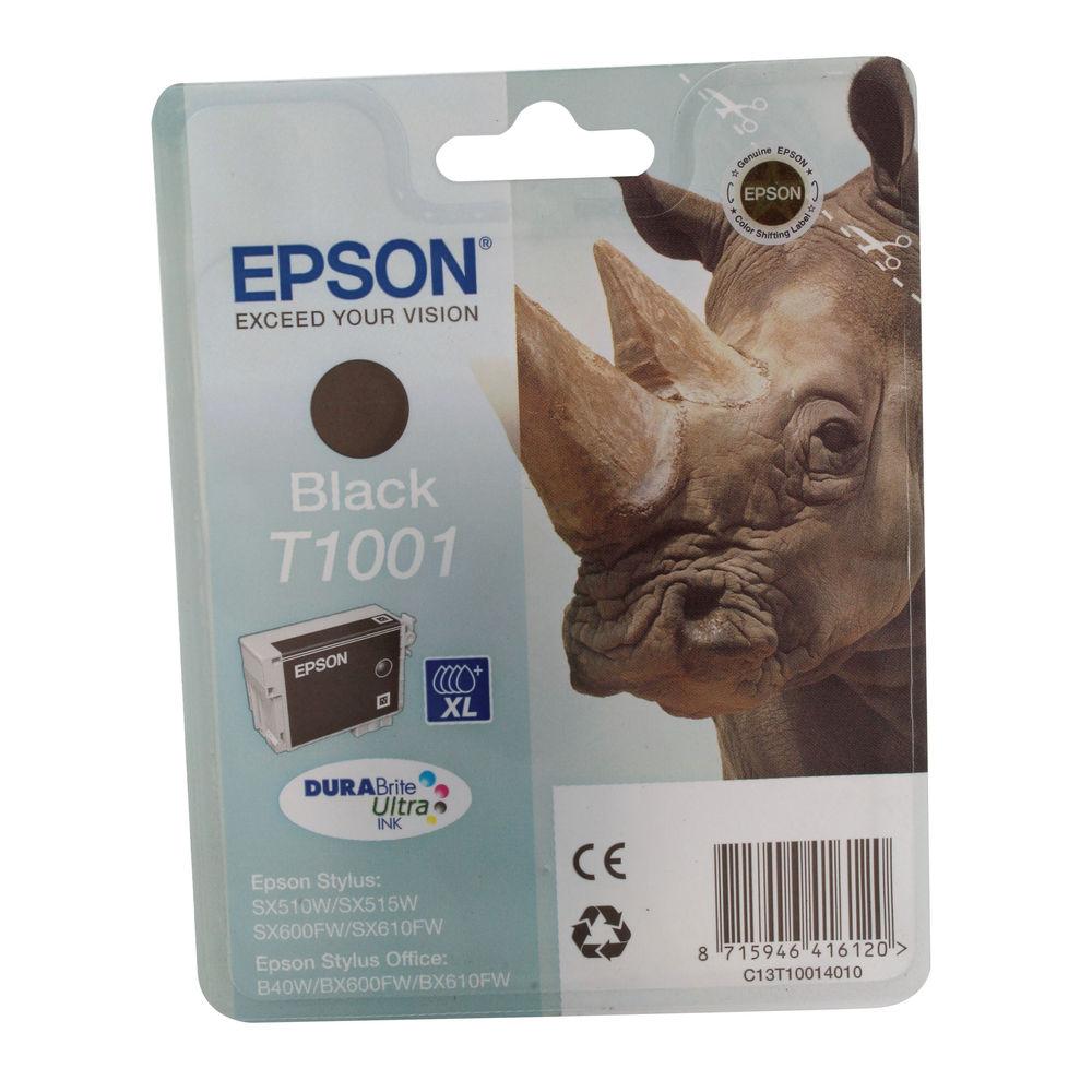 Epson T1001 Black Ink Cartridge C13T10014010 / T1001