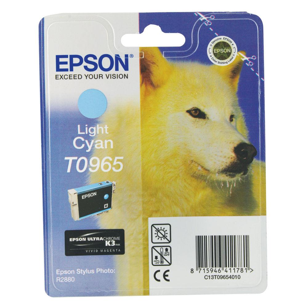 Epson T0965 Light Cyan Ink Cartridge - C13T09654010