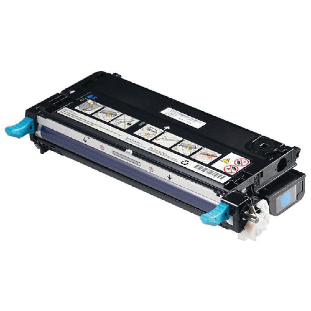 Dell 3110CN Cyan Laser Toner Cartridge - 593-10166
