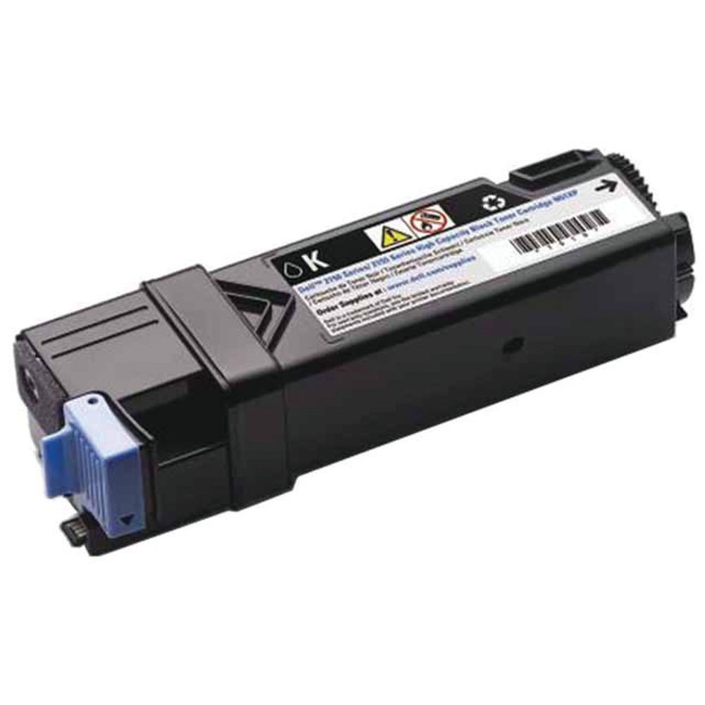 Dell 2150Cn Black Toner Cartridge - High Capacity 593-11040
