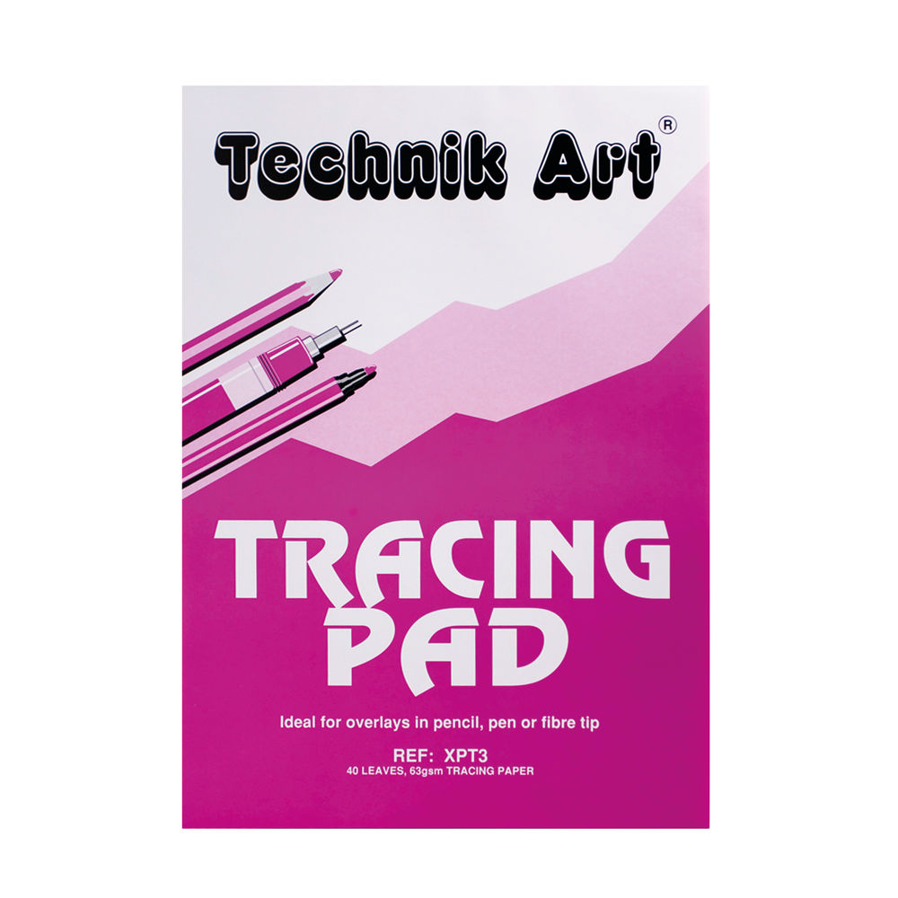 Clairefontaine Technik Art A3 63gsm Tracing Pad - XPT3