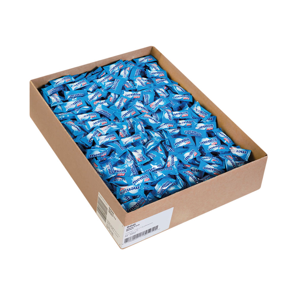 Mentos Mint Sweets Pillow Packs 3kg 900